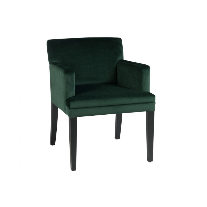 fauteuil velours vert. Black Bedroom Furniture Sets. Home Design Ideas